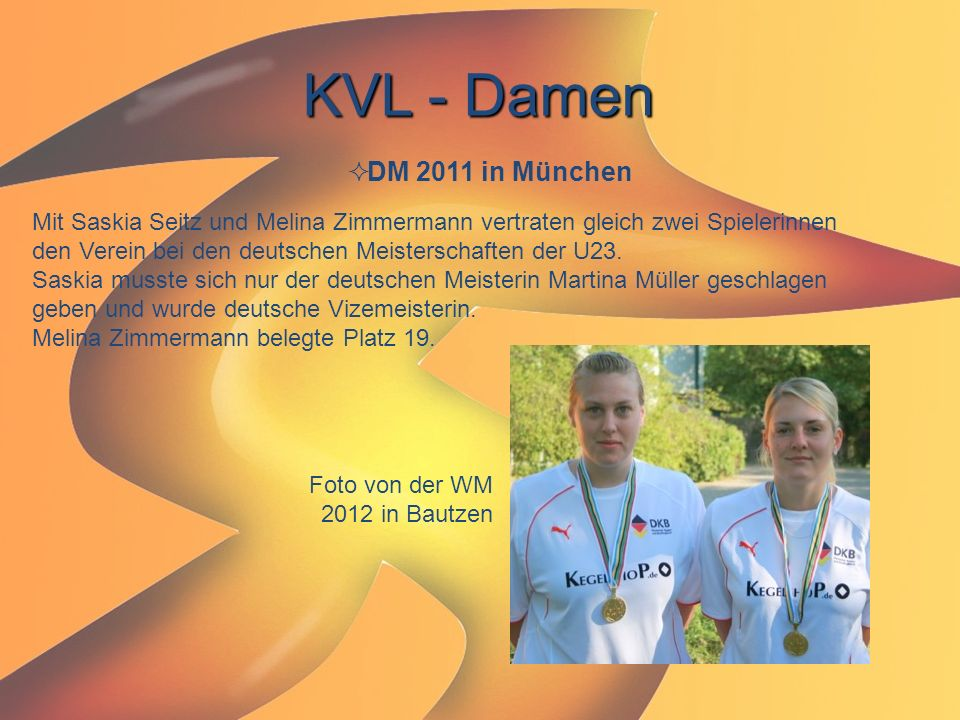 KVL - Damen DM 2011 in München