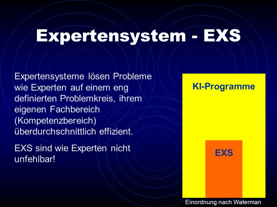 Expertensystem - EXS