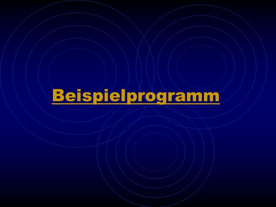 Beispielprogramm