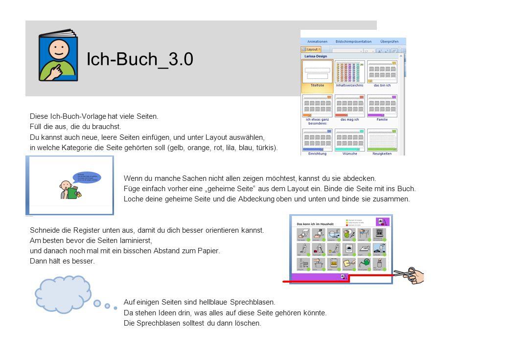 Ich-Buch_3.0 Diese Ich-Buch-Vorlage hat viele Seiten.