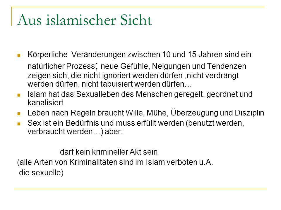 Aus islamischer Sicht