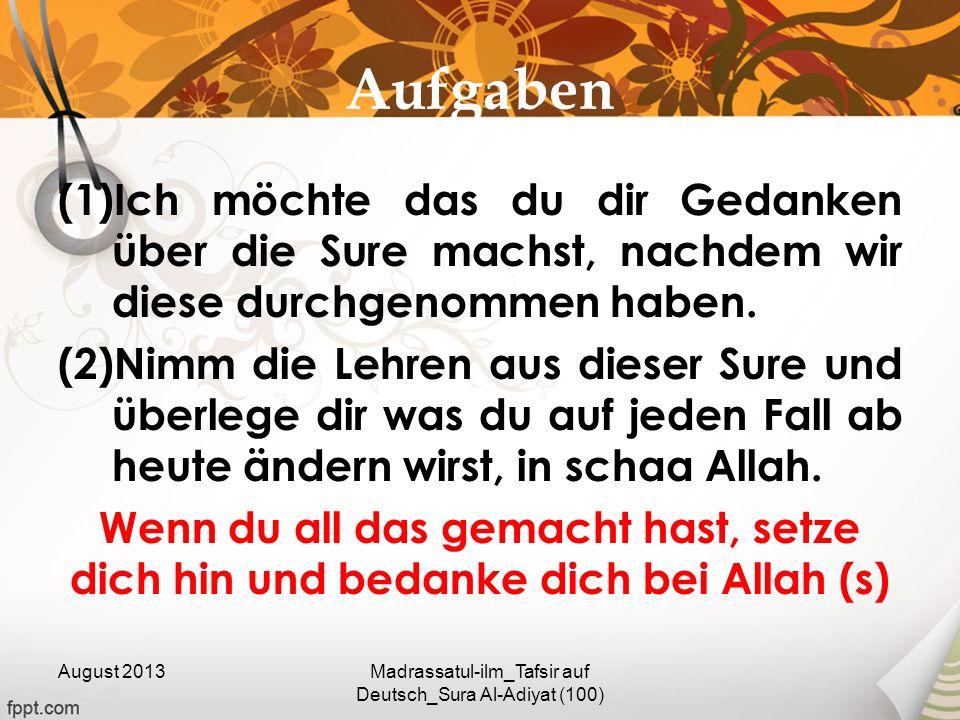 Madrassatul-ilm_Tafsir auf Deutsch_Sura Al-Adiyat (100)