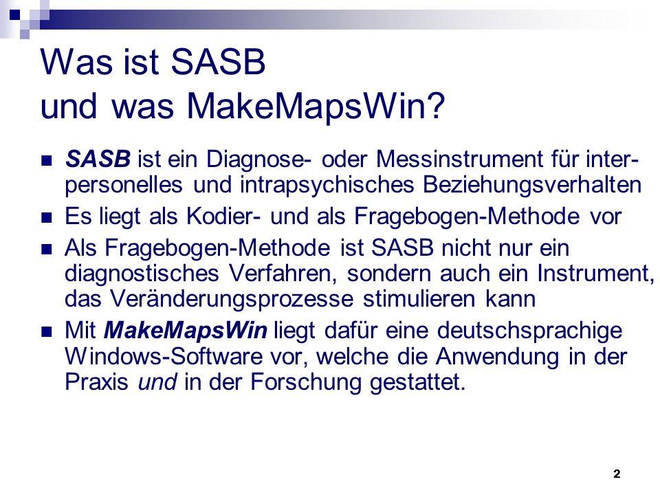 Was ist SASB und was MakeMapsWin