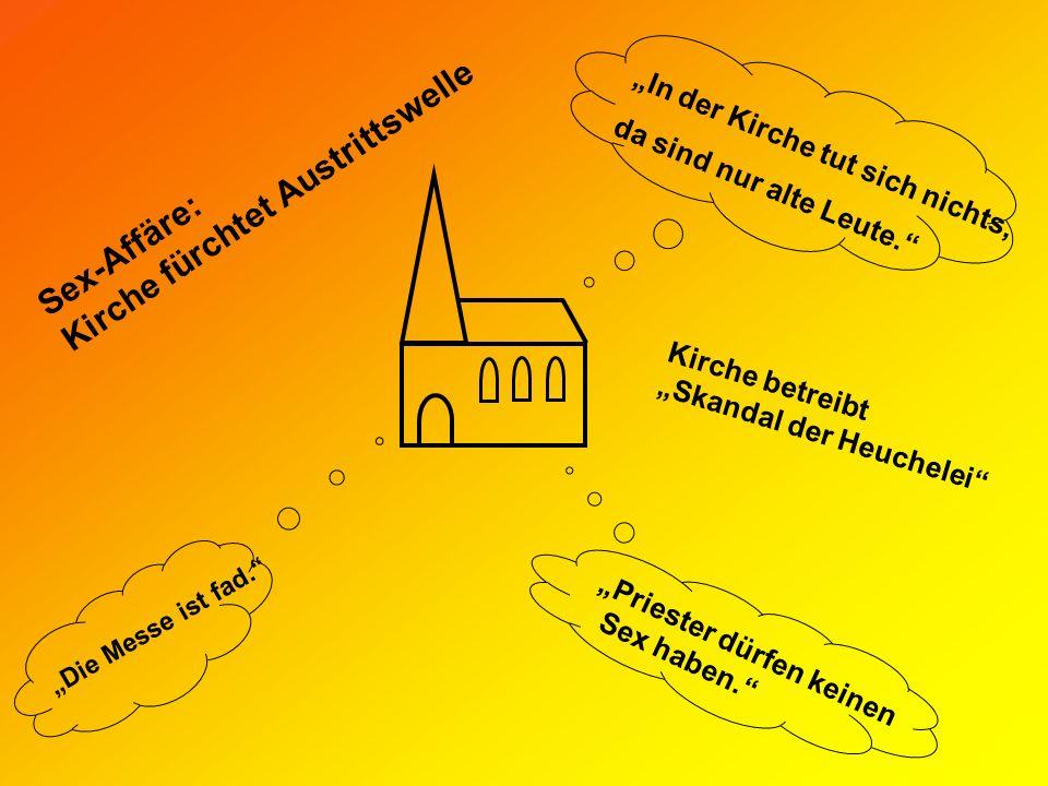 Kirche fürchtet Austrittswelle