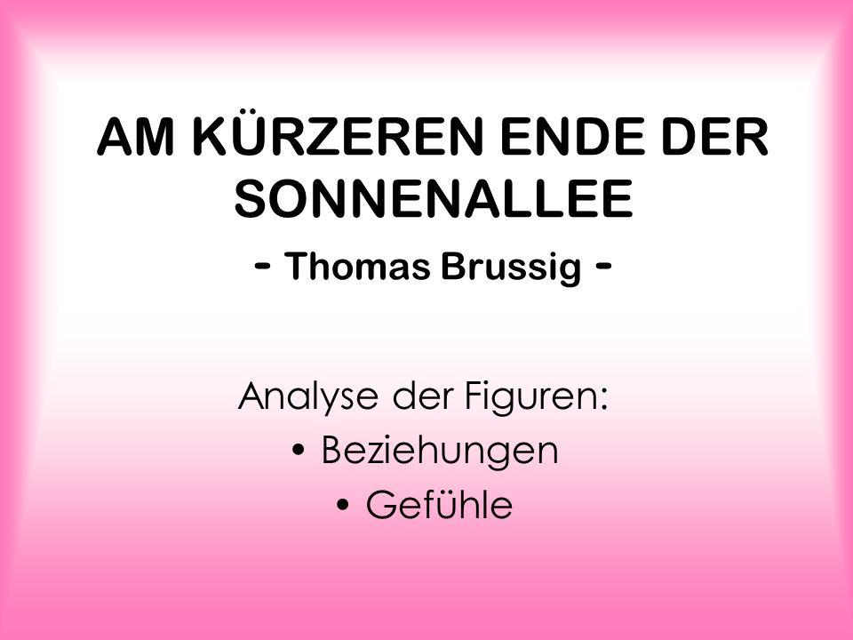 AM KÜRZEREN ENDE DER SONNENALLEE - Thomas Brussig -