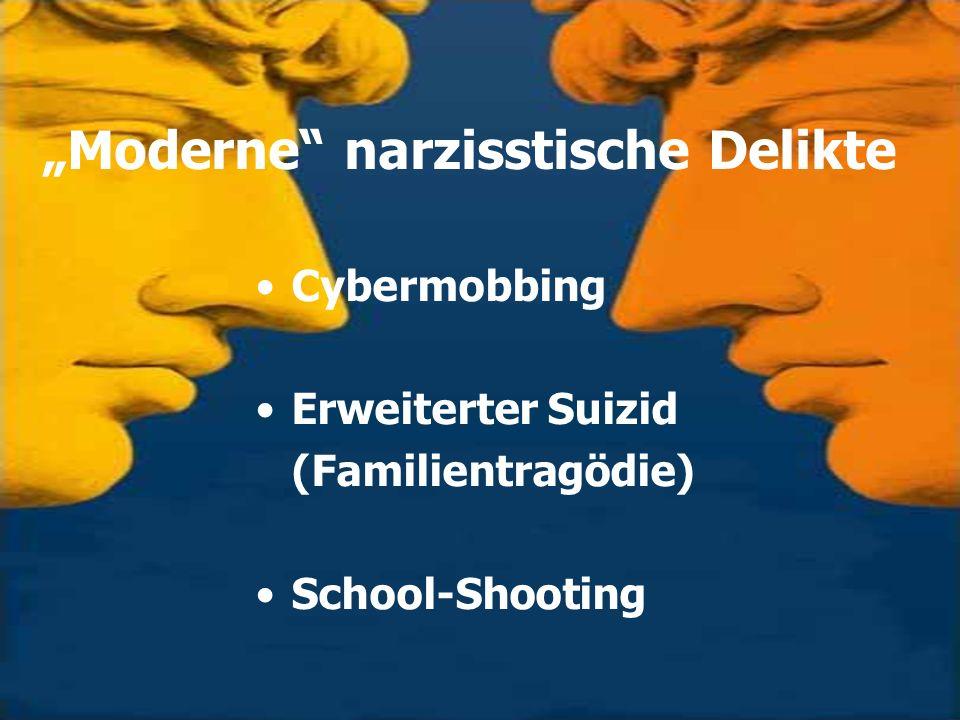 """Moderne narzisstische Delikte"