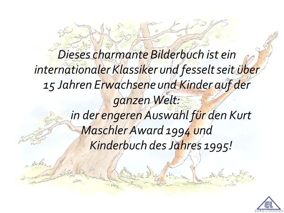 Dieses charmante Bilderbuch ist ein internationaler Klassiker und fesselt seit über 15 Jahren Erwachsene und Kinder auf der ganzen Welt: in der engeren Auswahl für den Kurt Maschler Award 1994 und Kinderbuch des Jahres 1995!