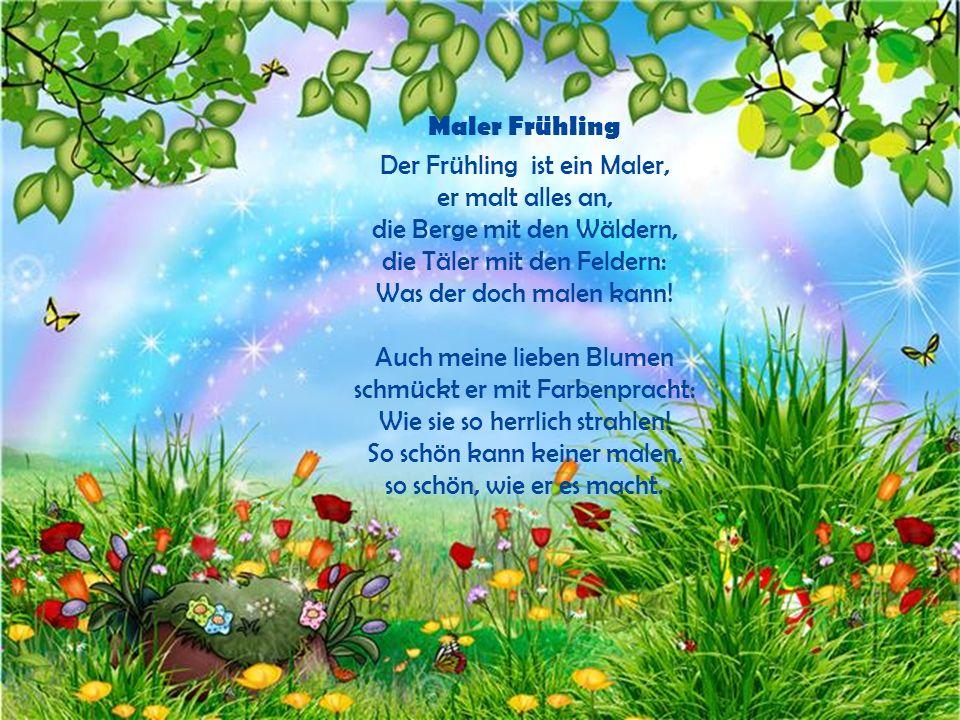 Maler Frühling
