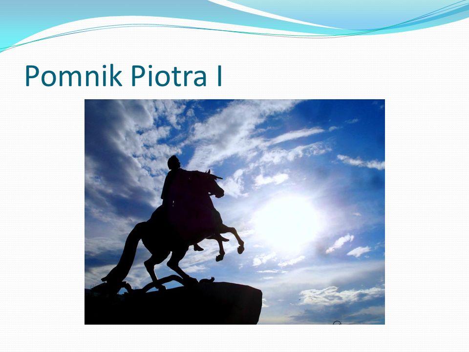 Pomnik Piotra I