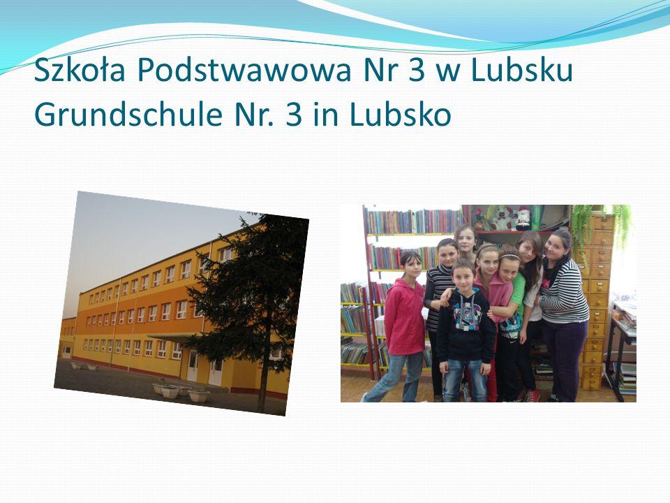 Szkoła Podstwawowa Nr 3 w Lubsku Grundschule Nr. 3 in Lubsko