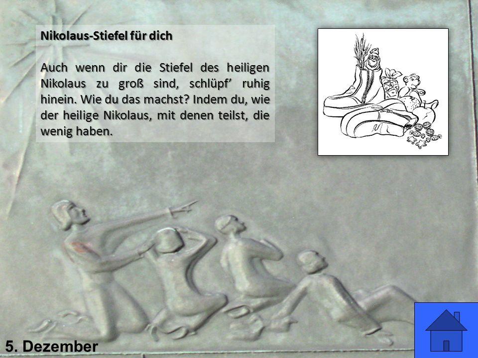 5. Dezember Nikolaus-Stiefel für dich