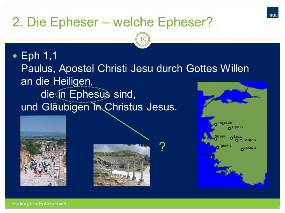2. Die Epheser – welche Epheser