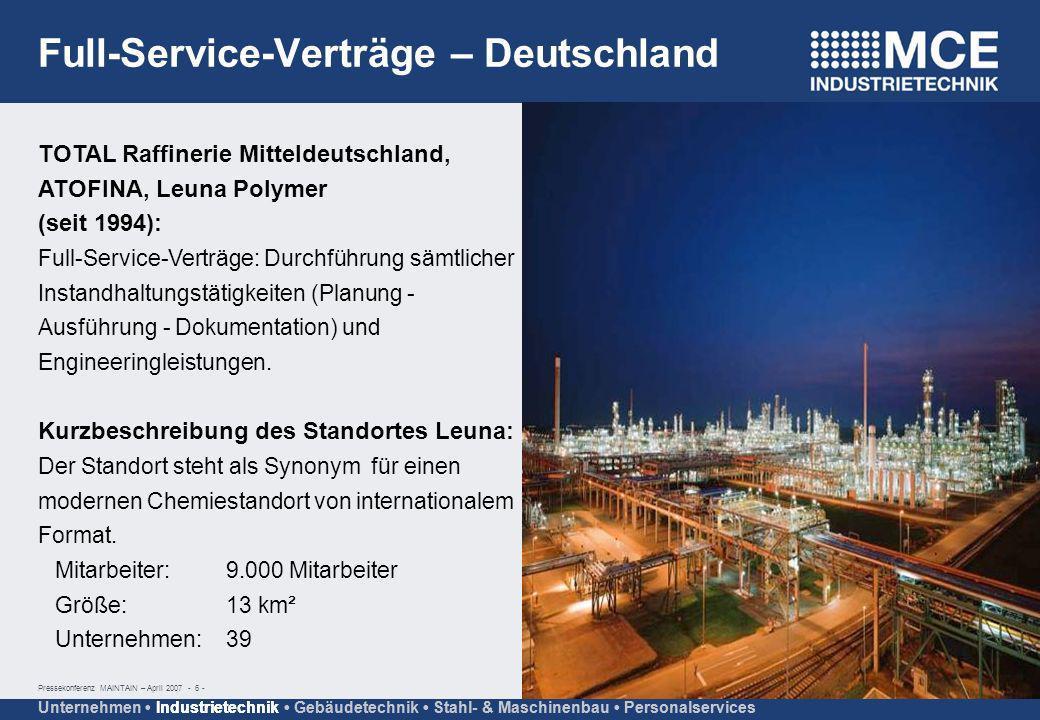 Full-Service-Verträge – Deutschland