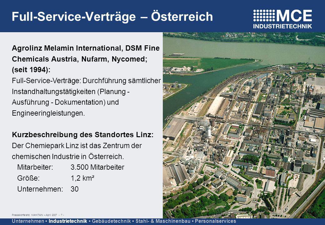 Full-Service-Verträge – Österreich