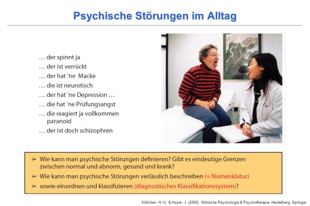 Psychische Störungen im Alltag