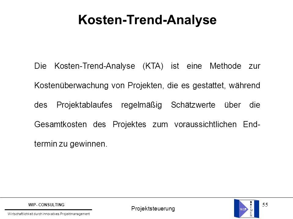 Kosten-Trend-Analyse