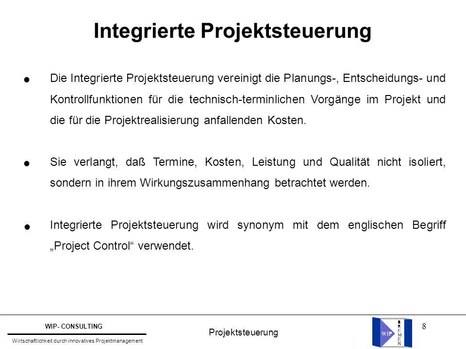 Integrierte Projektsteuerung