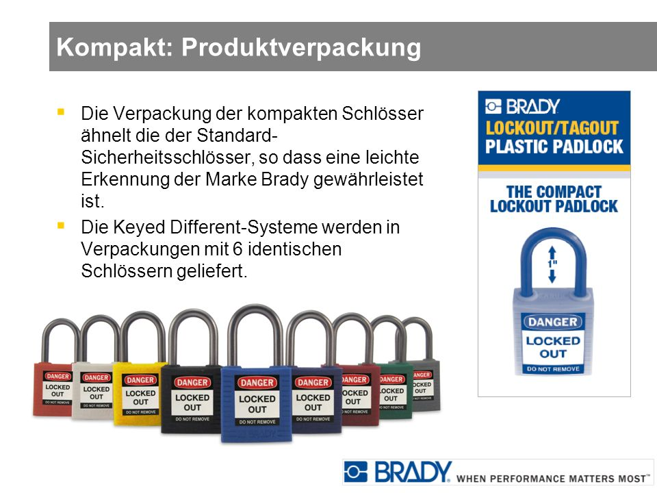 Kompakt: Produktverpackung
