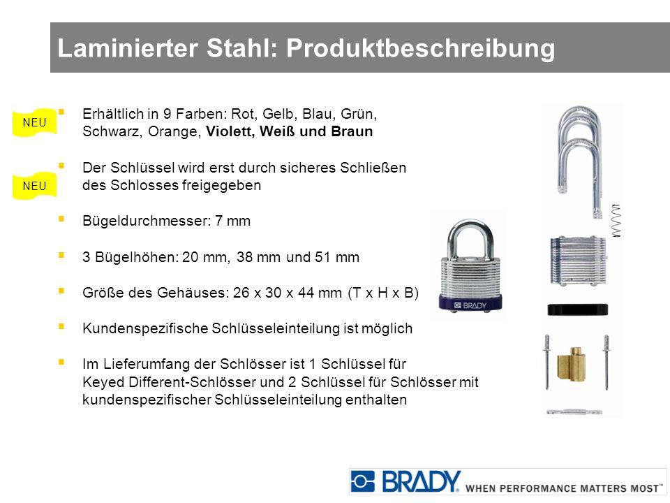 Laminierter Stahl: Produktbeschreibung
