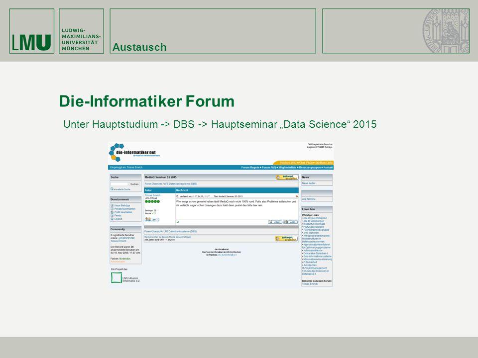 Die-Informatiker Forum