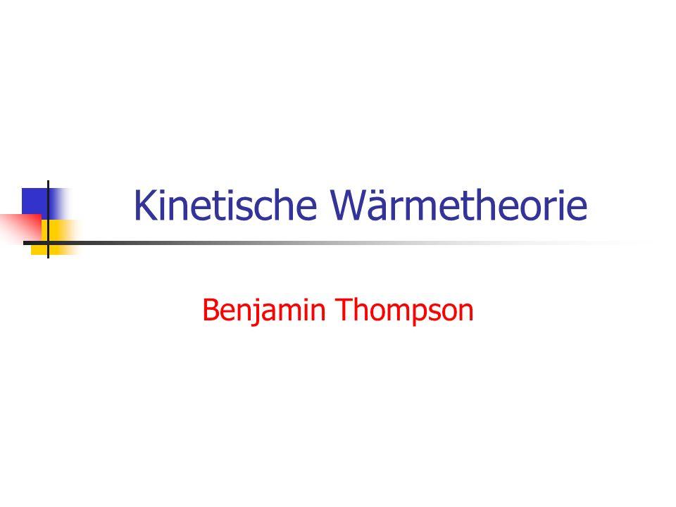 Kinetische Wärmetheorie