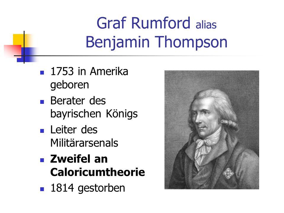 Graf Rumford alias Benjamin Thompson