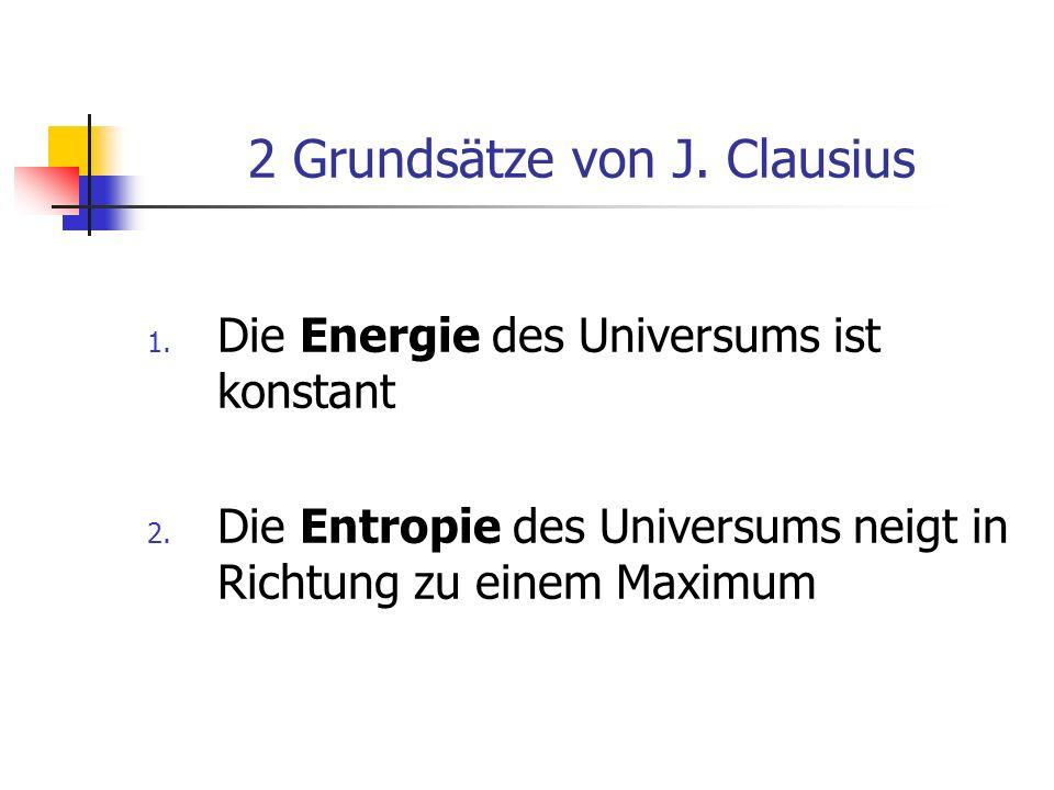 2 Grundsätze von J. Clausius