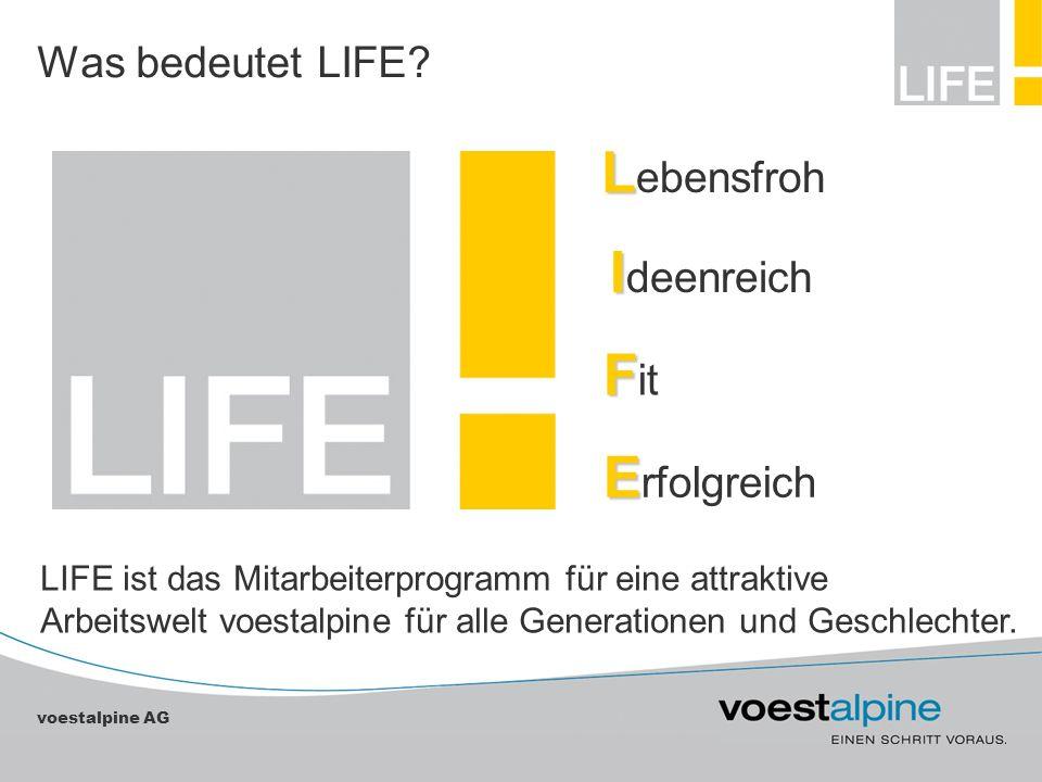 Lebensfroh Ideenreich Fit Erfolgreich Was bedeutet LIFE