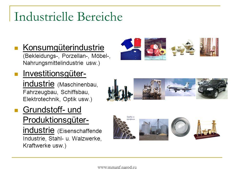 Industrielle Bereiche