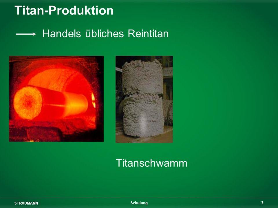 Titan-Produktion Handels übliches Reintitan Titanschwamm Schulung