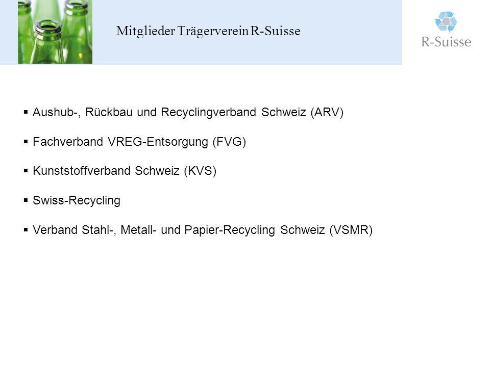 Mitglieder Trägerverein R-Suisse
