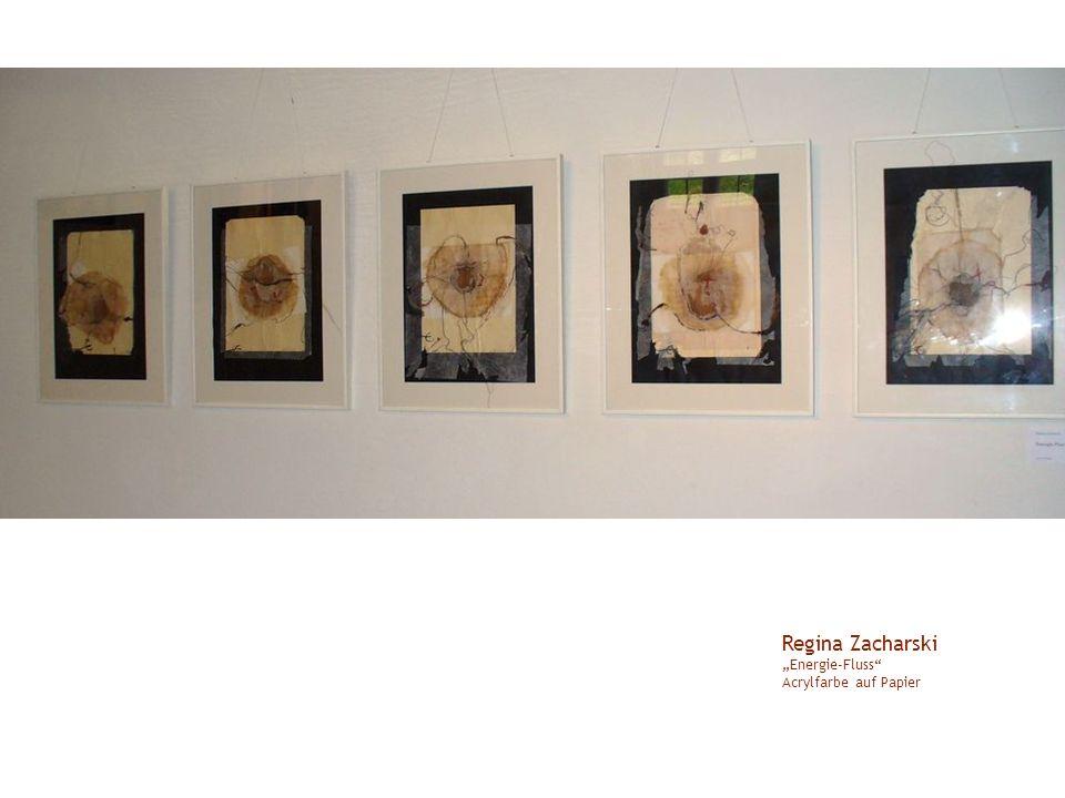 """Regina Zacharski """"Energie-Fluss Acrylfarbe auf Papier"""