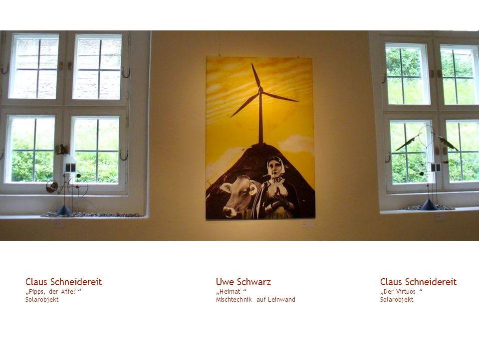 """Claus Schneidereit """"Fipps, der Affe Solarobjekt"""