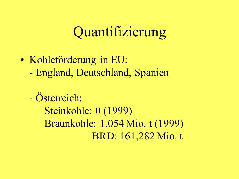 Quantifizierung