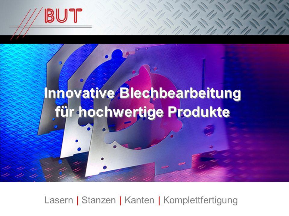 Innovative Blechbearbeitung für hochwertige Produkte