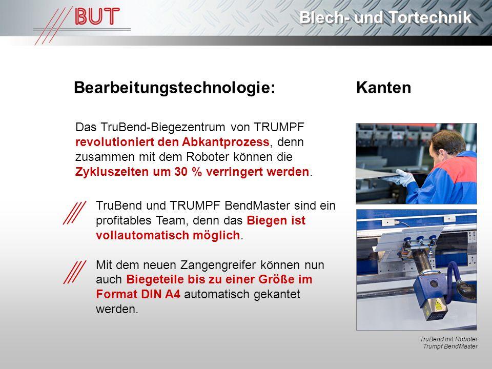 Bearbeitungstechnologie: Kanten