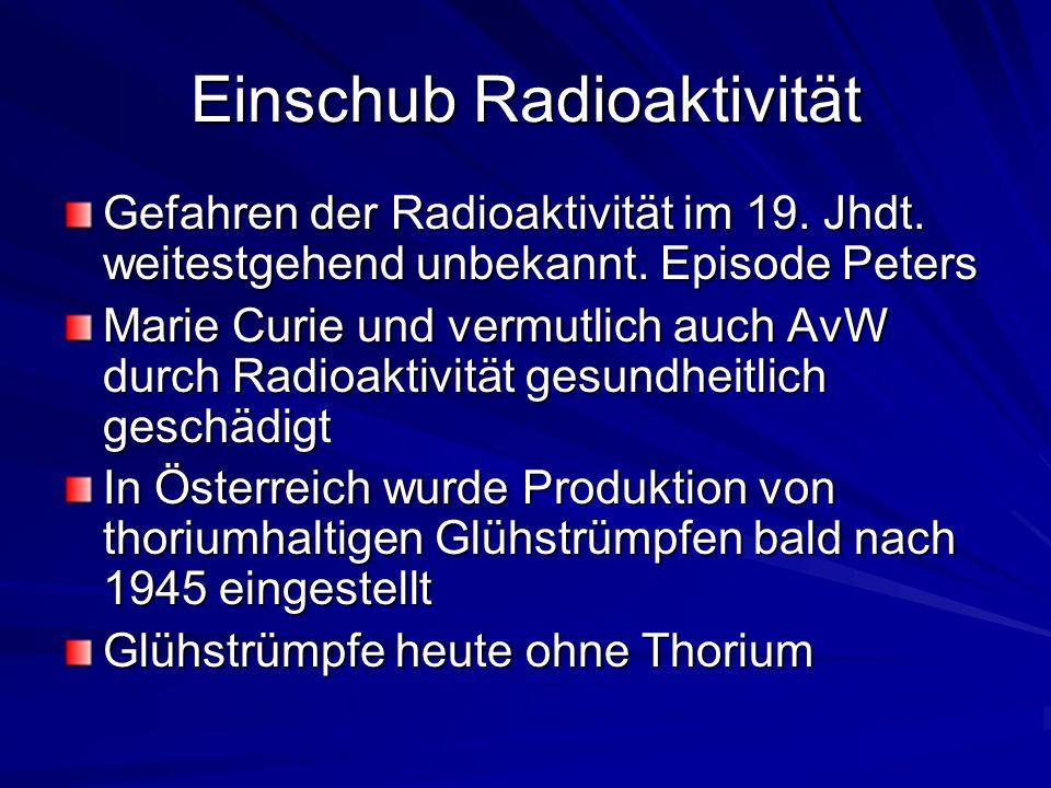 Einschub Radioaktivität