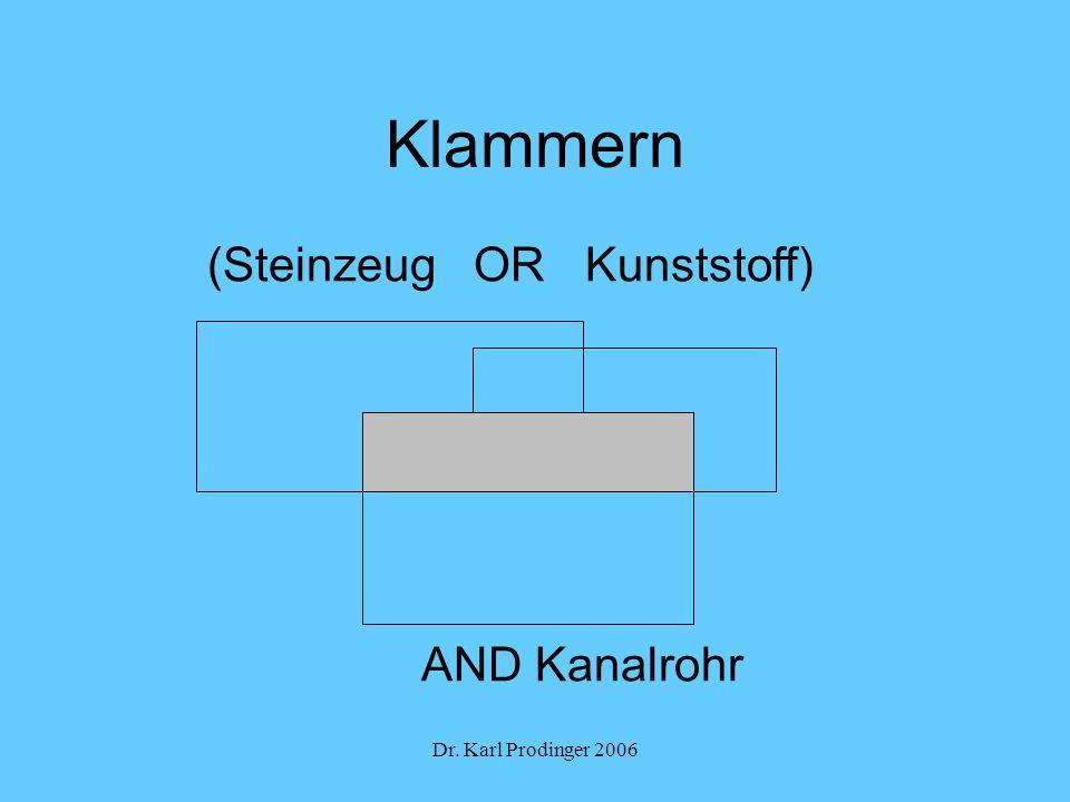 Klammern (Steinzeug OR Kunststoff) AND Kanalrohr