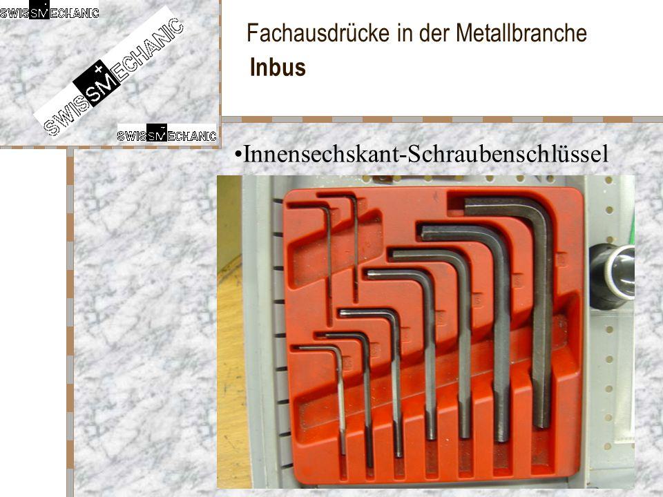 Inbus Innensechskant-Schraubenschlüssel