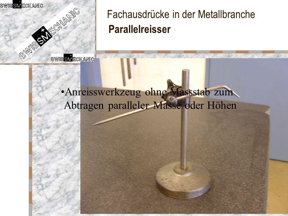 Parallelreisser Anreisswerkzeug ohne Massstab zum Abtragen paralleler Masse oder Höhen