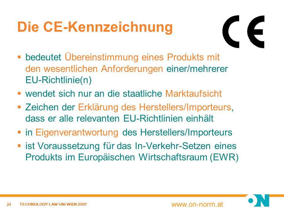Die CE-Kennzeichnung bedeutet Übereinstimmung eines Produkts mit den wesentlichen Anforderungen einer/mehrerer EU-Richtlinie(n)