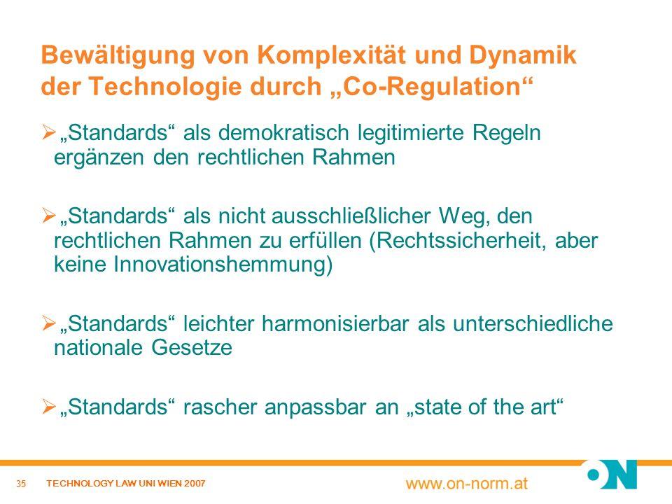 """Bewältigung von Komplexität und Dynamik der Technologie durch """"Co-Regulation"""