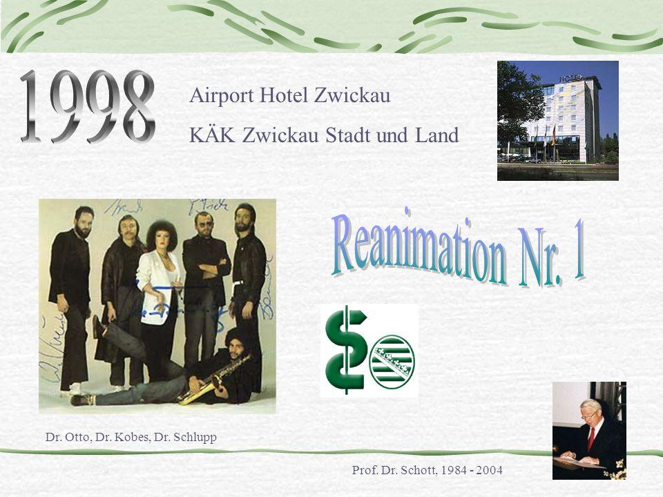 1998 Reanimation Nr. 1 Airport Hotel Zwickau