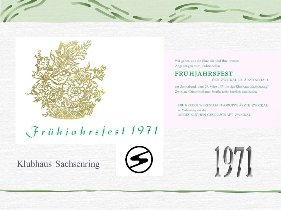 1971 Klubhaus Sachsenring