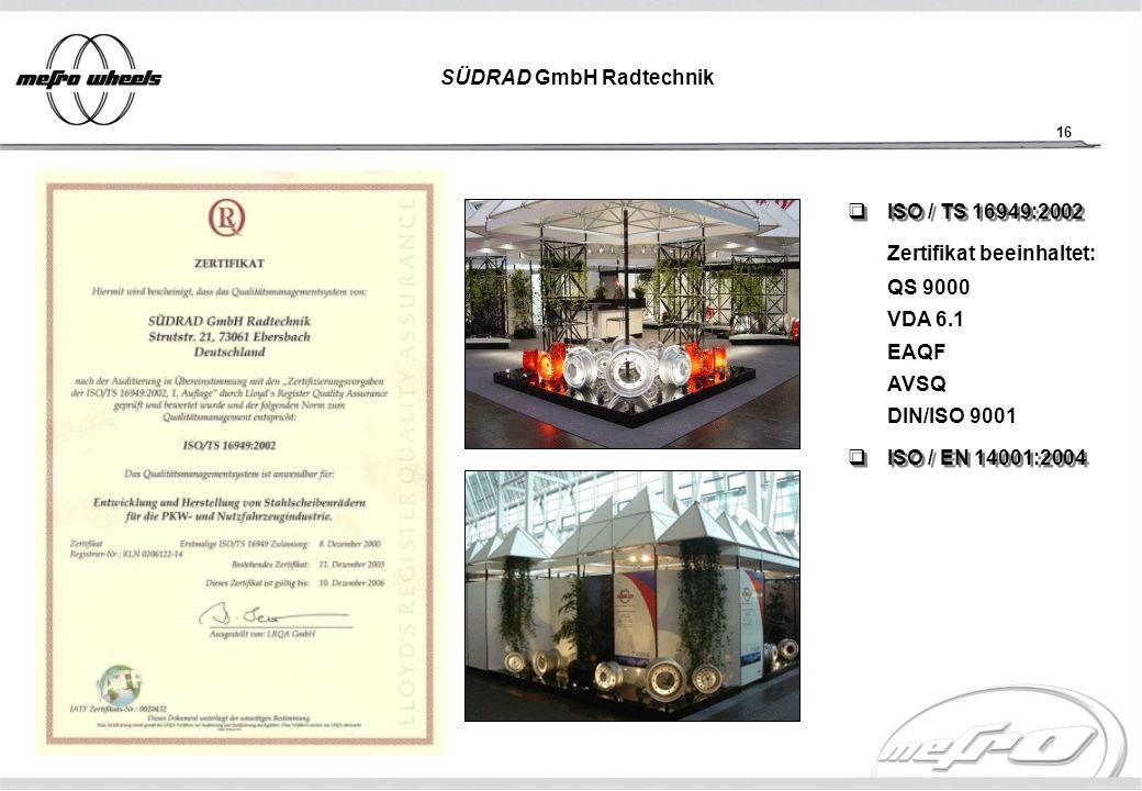 SÜDRAD GmbH Radtechnik
