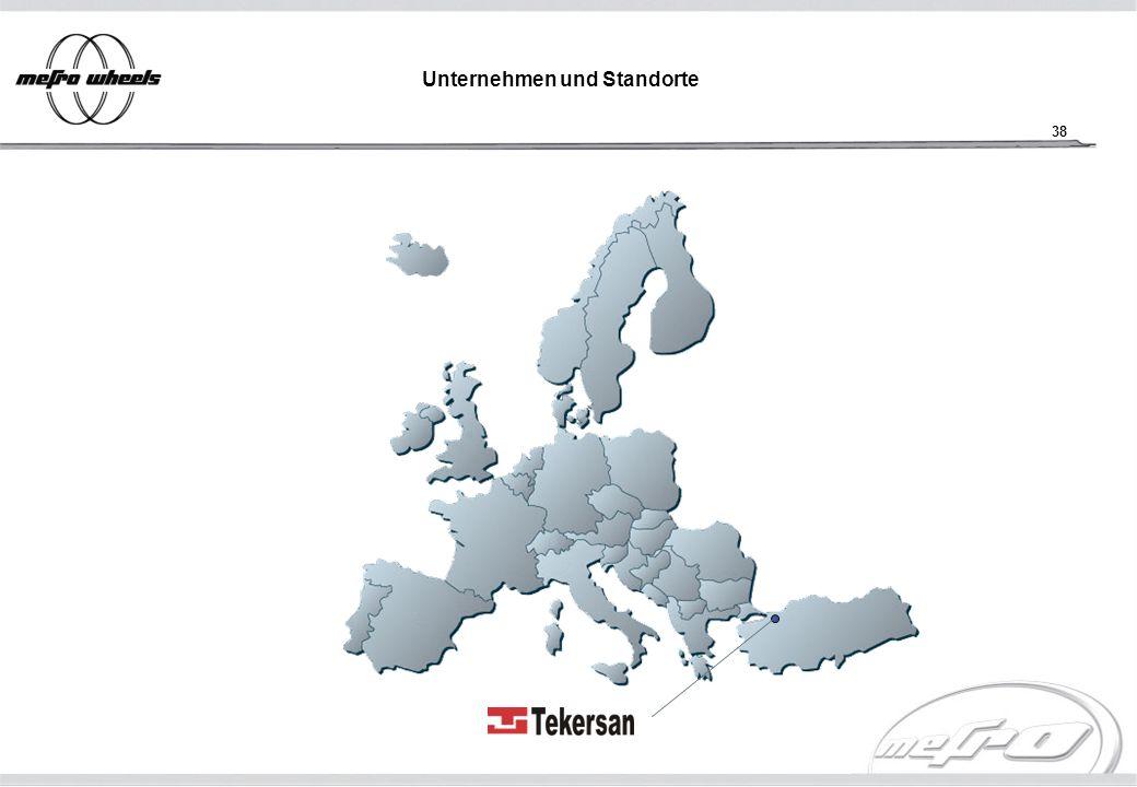 Unternehmen und Standorte