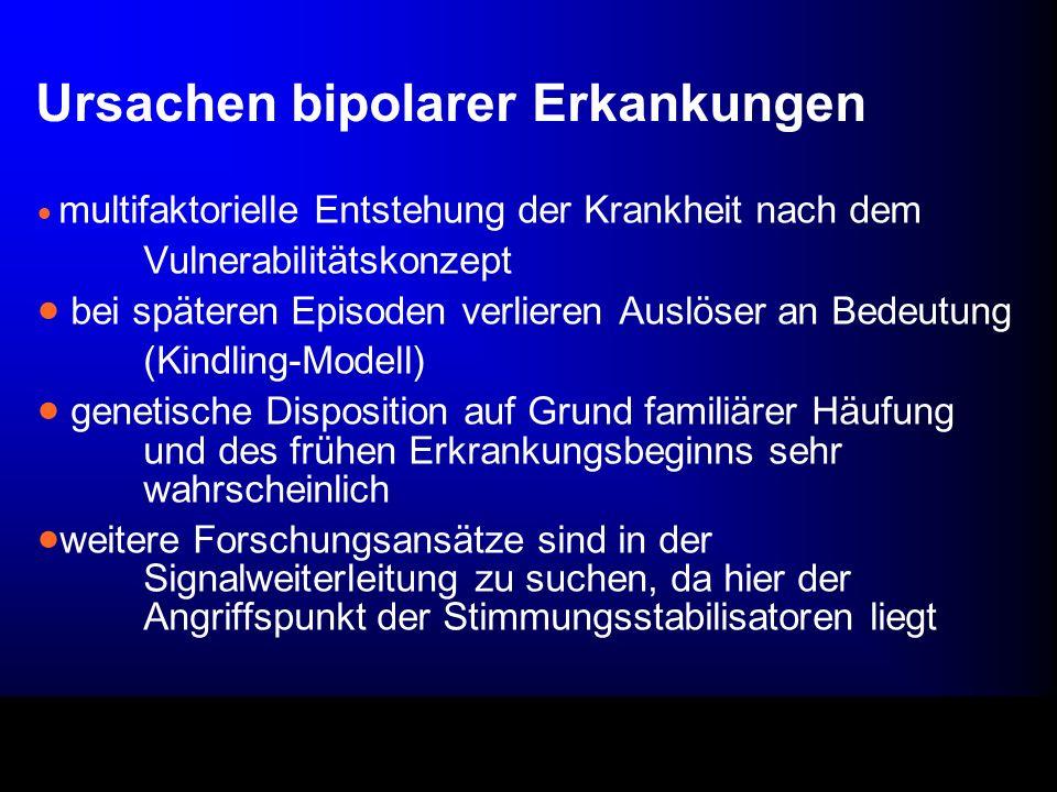 Ursachen bipolarer Erkankungen