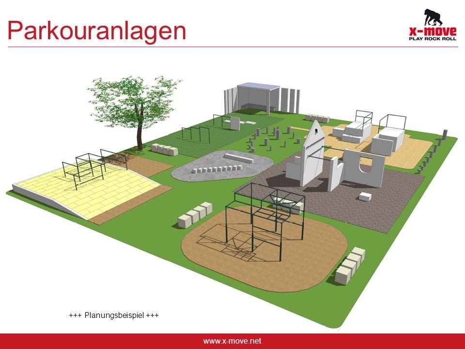Parkouranlagen +++ Planungsbeispiel +++ www.x-move.net 10