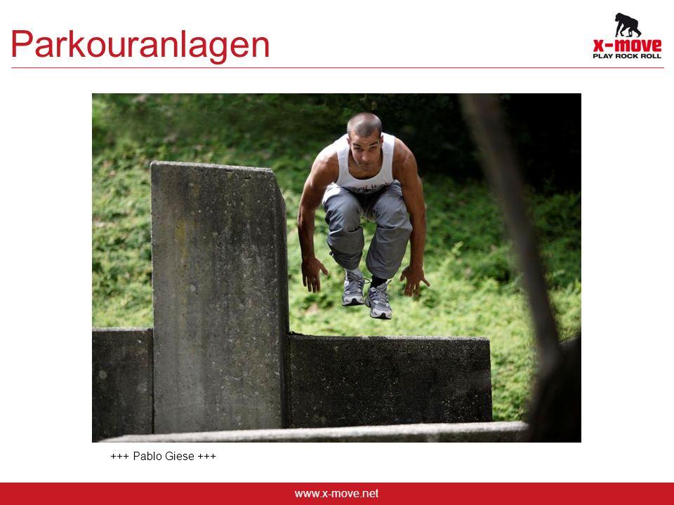 Parkouranlagen +++ Pablo Giese +++ www.x-move.net