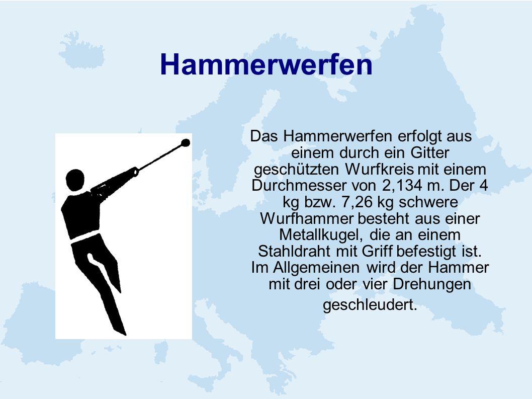 Hammerwerfen